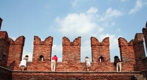Visita turística de excursión Fotos de archivo libres de regalías