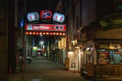 Visita turística de excursión alrededor de la ciudad vieja Hida-Takayama imágenes de archivo libres de regalías