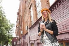 Visita turística de excursión en ciudad turística Fotografía de archivo libre de regalías