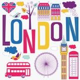 Visita turística de excursión en Londres Imágenes de archivo libres de regalías
