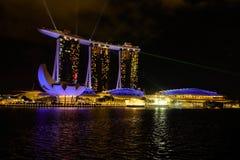 Visita turística de excursión en Singapur Foto de archivo libre de regalías