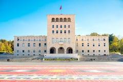 Visita turística de excursión en Tirana Fotografía de archivo