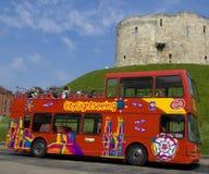 Visita turística de excursión en York Foto de archivo