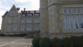 Visitando a fachada norte Palacio de la Magdalena 10 filme