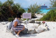 Visitando os Bahamas fotografia de stock royalty free
