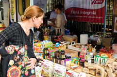 Visitante na entrega 2011 da rua Foto de Stock Royalty Free