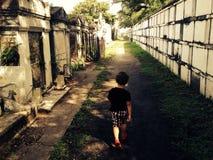 Visitante quieto Foto de Stock