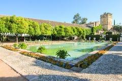 Visitantes do jardim dos reis de Córdova Imagens de Stock Royalty Free