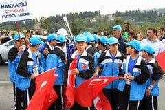 Visitantes jovenes de Hakkari Fotografía de archivo