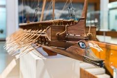 Visitar el museo marítimo nacional en Haifa imagenes de archivo