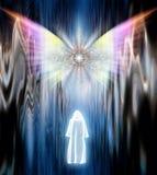 Visitation Angel stock illustration