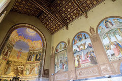 Visitation Church interior, Jerusalem Royalty Free Stock Photo