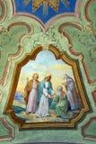 Visitation de la Virgen María Imagenes de archivo