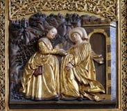 Visitation de la Virgen María Fotografía de archivo