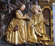 Visitation de la Virgen María Fotografía de archivo libre de regalías