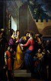 Visitation of the Virgin Mary Royalty Free Stock Photo