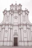 Visitationist Church, Krakowskie Przedmiescie Street, Warsaw Stock Image