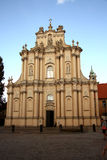 Visitationist Church in Warsaw (Poland) Royalty Free Stock Photography