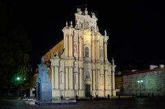 Visitationist Church in Warsaw (Poland) Stock Photography