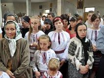 Visite au _11 de Sviatoslav Shevchuk d'église de chapitre de Chortkiv Photo libre de droits