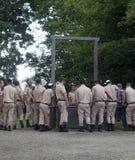 Visite Auschwitz Birkenau image libre de droits