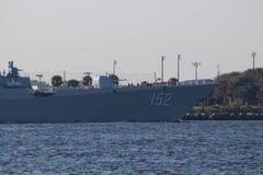 Visite chinoise de bonne volonté de marine Photos stock