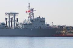 Visite chinoise de bonne volonté de marine Image libre de droits