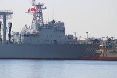 Visite chinoise de bonne volonté de marine Image stock