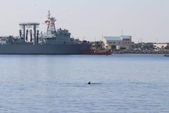 Visite chinoise de bonne volonté de marine Photographie stock libre de droits