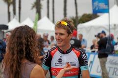 Visite d'Andy Schleck 2013 de la Californie Photo libre de droits