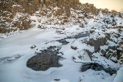 Visite d'or de cercle de Reykjavik Islande Images libres de droits