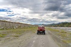 Visite d'entraînement à quatre roues à la montagne Pinatubo Photo libre de droits