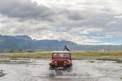 Visite d'entraînement à quatre roues à la montagne Pinatubo Photos libres de droits