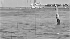 Visite de bateau de Venise Murano banque de vidéos