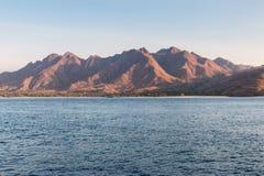 Visite de bateaux de Komodo Photographie stock
