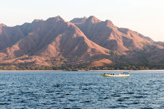 Visite de bateaux de Komodo Photos libres de droits