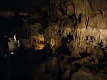 Visite de caverne du Kentucky Etats-Unis de cavernes de mammouth Photographie stock libre de droits