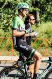 Visite de course de vélo d'Alberta Photos stock