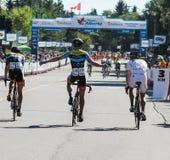 Visite de course de vélo d'Alberta Photos libres de droits