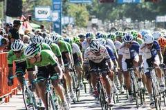 Visite de course de vélo d'Alberta Images stock
