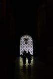 visite de gens de mosquée Images libres de droits