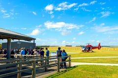 Visite de 12 hélicoptères d'apôtres Image libre de droits