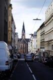 Visite de matin de Vienne en juillet photos libres de droits
