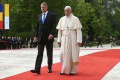Pope Francis visit to Romania