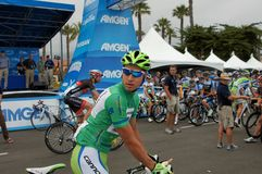 Visite de Peter Sagan 2013 de la Californie Photos stock