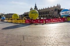 Visite de Pologne 2013 Image libre de droits