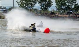 Visite de scooter de mer de G-choc pro Thaïlande 2014 Internationa Photographie stock