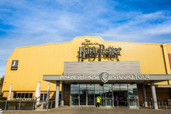 Visite de Warner Brothers Studio 'la fabrication de Harry Potter' photographie stock libre de droits