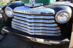 Visite des salons automobiles et des ventes aux enchères de vintage dans le Canada Photo libre de droits