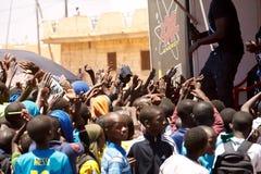 Visite du Senegal 2017 de Dacar ao Islã Mansouri do vencedor das fases de Dacar 8 Foto de Stock Royalty Free